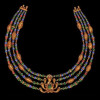 Golden Jeweled Serpent Necklace Design of Fine Art Jewelry